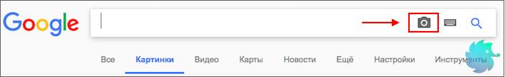 Поиск по изображениям Google