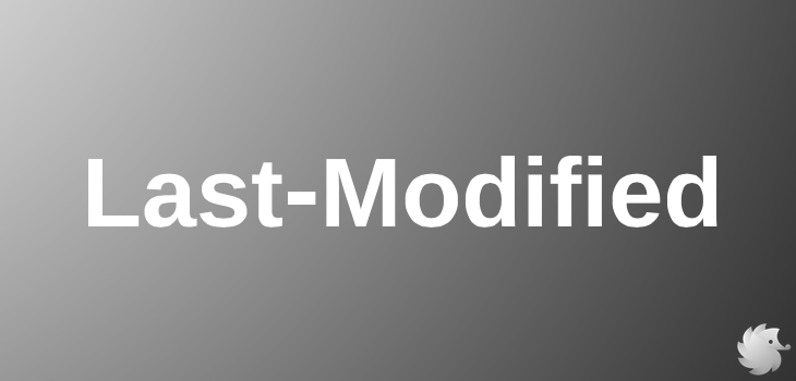 Заголовок Last-Modified